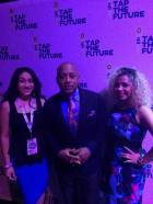 Eva Rangel, Daymond John and Tyzza #TaptheFuture