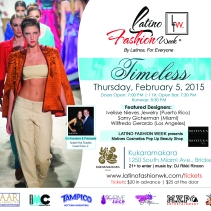 Latino Fashion Week Miami