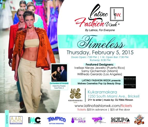 Latino Fashion Week Miami