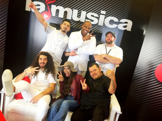 The Effinays interview with La Musica