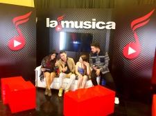 La Musica's Hostess, Jessie Le Belle interviews Los Pichy Boys