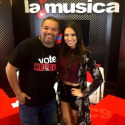 Multi-Platinum Mega Producer Rated R with Hostess of La Musica Jessie Le Belle