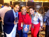 Multi-Platinum Mega Producer Rated R with Fashion Gurus of Corriente Latina