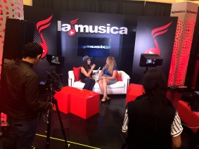 TV Hostess of La Musica Jessie Le Belle with Social Media Queen Lizza XOXO